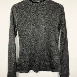 3/$30 Forever 21 Metallic Sparkle Long Sleeve Sz M